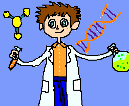cientista molecular desenho de kenav gartic