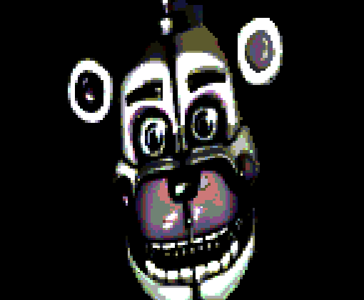 Funtime Freddy Pixel Art