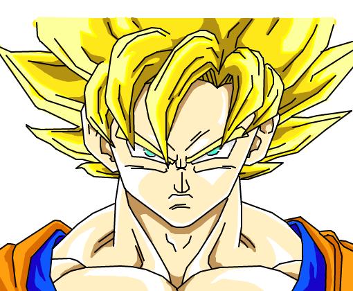 Goku Ssj2 Desenho De Kurostisuji Gartic