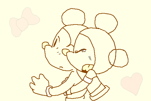 Mickey E Minnie Para A Biiia O Desenho De Kushina Vampire Gartic