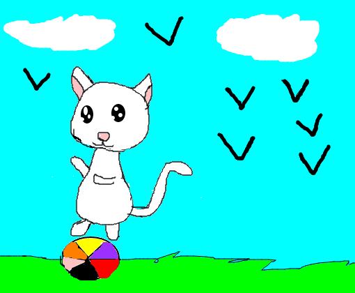 Meu Gato Fofo Desenho De Lali0 Gartic