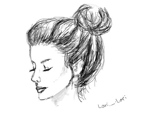 Garota Tumblr Desenho De Larilarieoooh Gartic