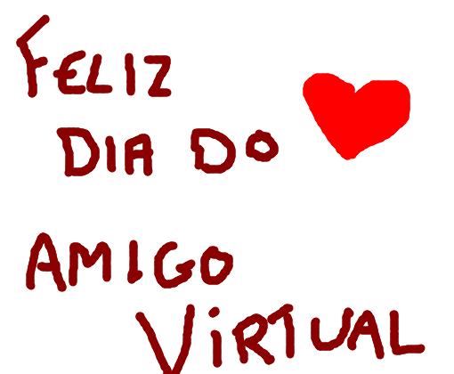 Feliz Dia Do Amigo Virtual Dnv 3 Desenho De Laviniacap Gartic