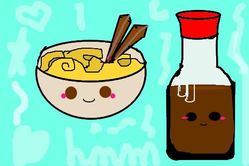 Comida Kawaii 1 Desenho De Lawliett Gartic