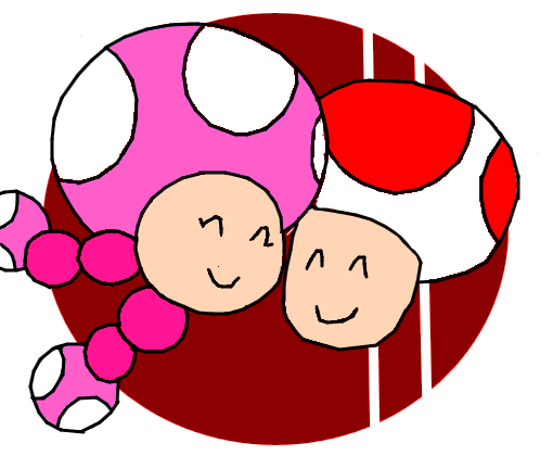 Toadette + Toad