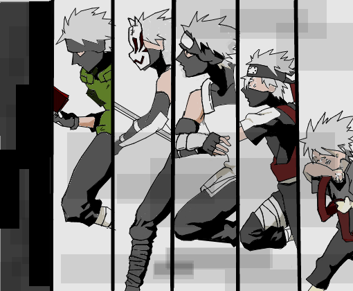 kakashi evolution