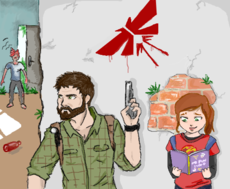 The last of us - joel - ellie