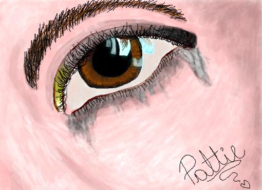 Olhos Tristes Desenho De Lipat Gartic