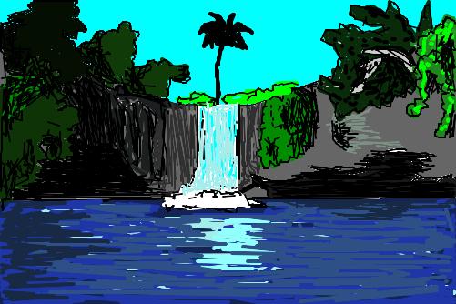 Stream Android To Tv >> Cachoeira da Maninha - Desenho de lokim30 - Gartic