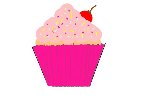 cup cake desenho de lokinosan gartic