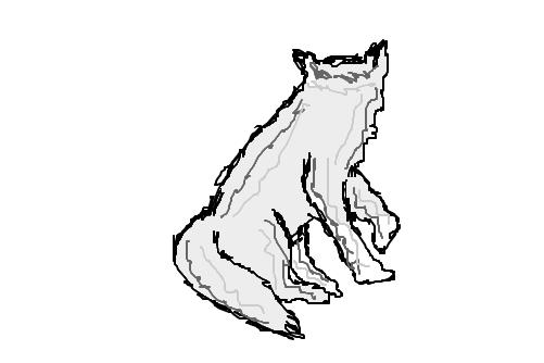 Lobo De Costas Desenho De Lola008 Gartic
