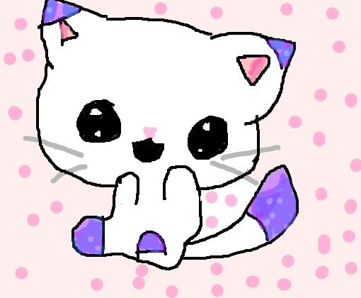 Gatinho Kawaii Desenho De Luah887 Gartic