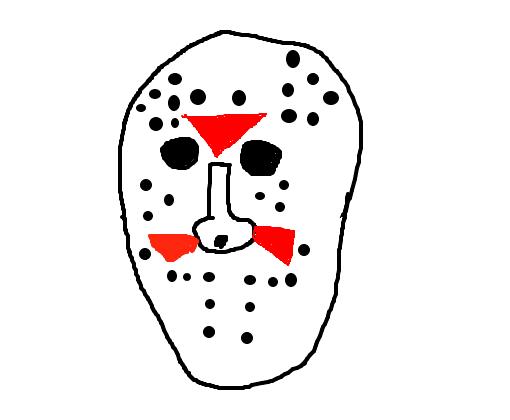 A Mascara Do Jason Desenho De Luc89 Gartic
