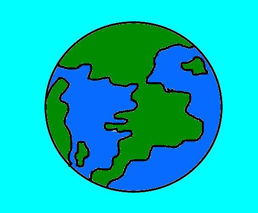 Mundo ¬¬ - Desenho de lucasmatheuseronal - Gartic