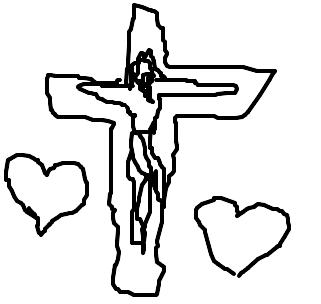 A paixão de cristo - Desenho de lucy_chan - Gartic