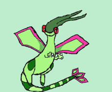 Flygon p/ Umbreon__
