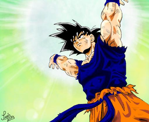 Goku (Dragon Ball Z) - Desenho de luisgontijo - Gartic