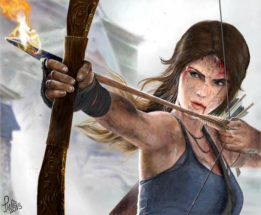9328f443b7 Lara Croft p/ JessykaGamer - Desenho de luisgontijo - Gartic