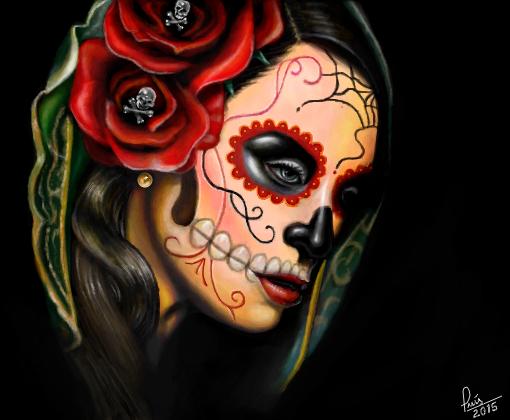 Tattoo Caveira Mexicana P Catriel Desenho De Luisgontijo Gartic