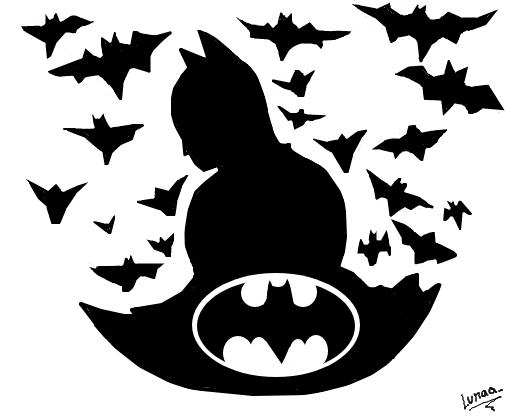 morcegos desenho de lunaa gartic
