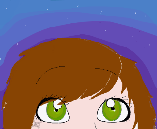 Olhos Grandes Desenho De M0rena Gartic
