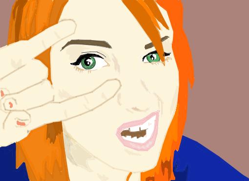Hayley Williams em desenho animado - Desenho de m_design - Gartic