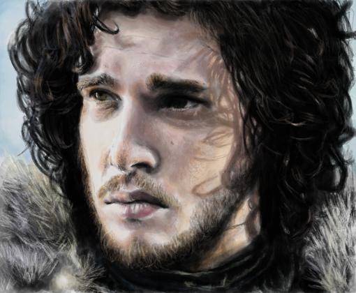 Jon Snow Desenho De Maggot Gartic