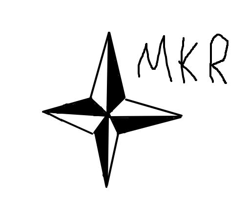 rosa dos ventos - desenho de makson1000