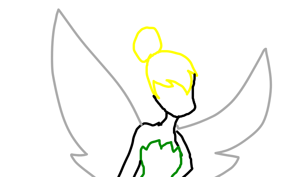 Sininho Desenho De Mangle Kawaii 0201 Gartic