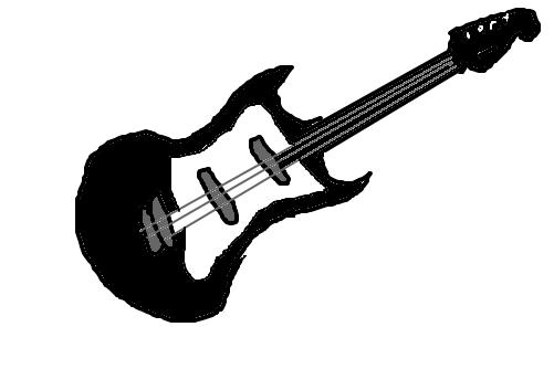 Guitarra Desenho De Manuzinha000 Gartic