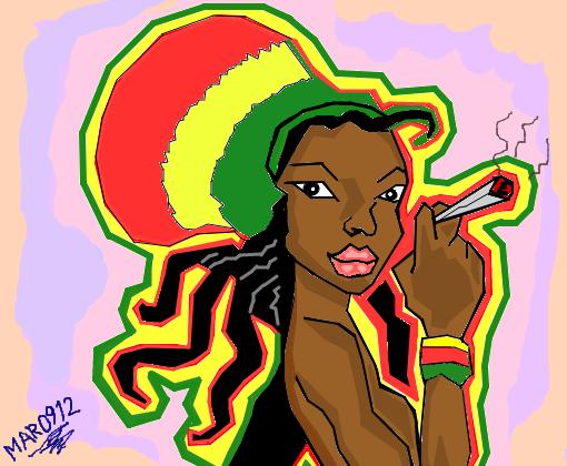 Mary Reggae Desenho De Mar0912 Gartic