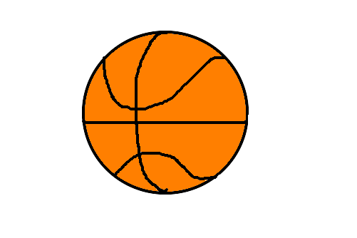 bola de basquete desenho de marianacb gartic