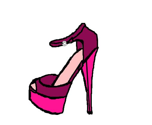 af709f4c7 Sapato - Desenho de marsala1998 - Gartic