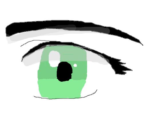 Olho Anime Desenho De Mary1347 Gartic