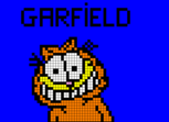 Garfield. Pixel Art.