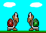Koopa Troopa Red & Green. Pixel Art.