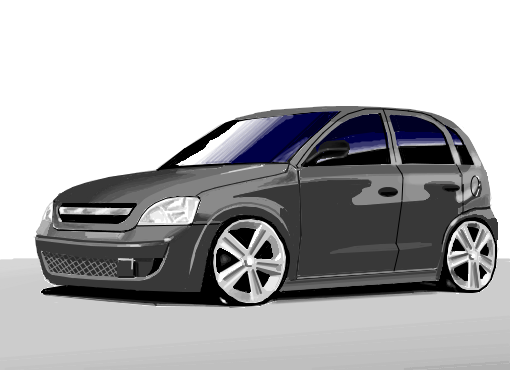 Chevrolet Corsa Desenho De Matheus Ths Gartic