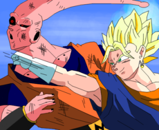 VEGETTO VS SUPER BOO