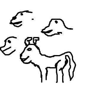 Resultado de imagem para matilha desenho