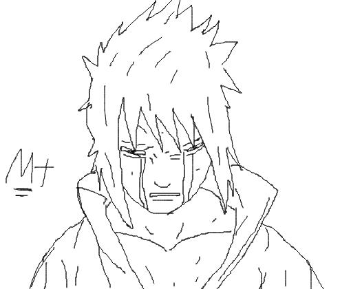 Sasuke Uchiha Desenho De Matheusrapper Gartic