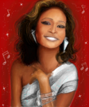 Whitney Houston, diva.