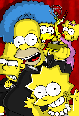 Os simpsons.