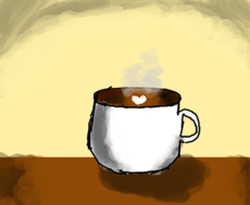 Coffe ou chocolate quente