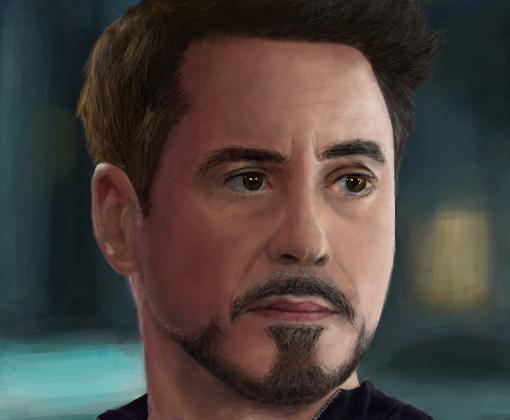 Tony Stark Desenho De Micaf22 Gartic