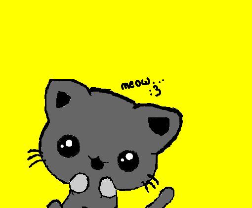 Gatinho Kawaii Desenho De Mih Pandah Gartic