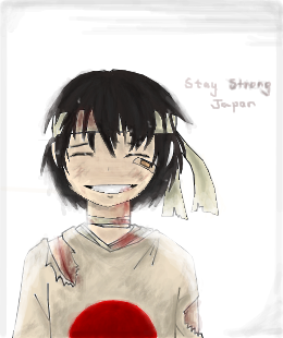 Stay Strong Japan  __ #Pray for Japan