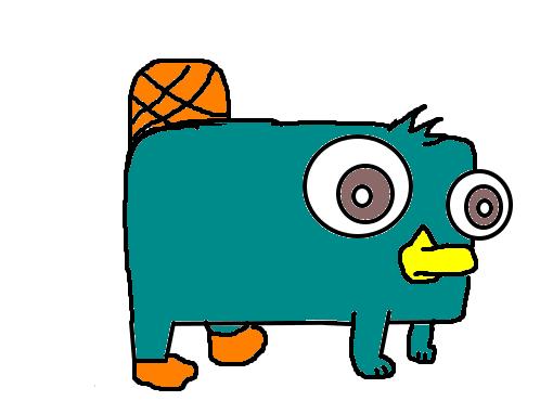 Perry, o Ornitorrinco ( Bebê ) - Desenho de mikuu_ - Gartic
