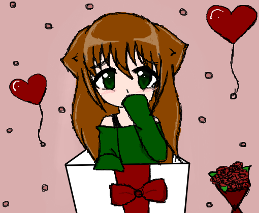 Feliz Dia Dos Namorados 3 Desenho De Milenakawaii Gartic