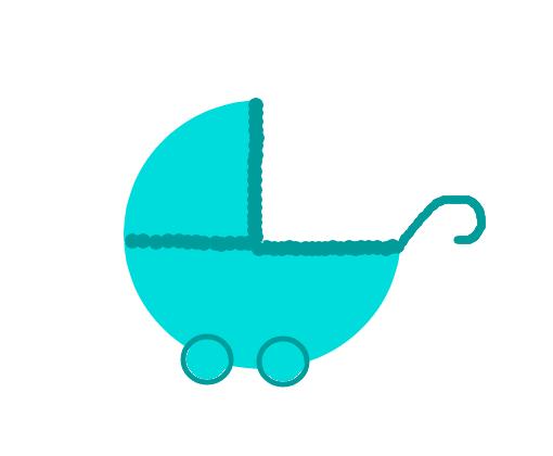 Carrinho De Bebe Desenho De Millast Gartic