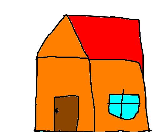 Desenho De Casas Simples Para Colorir: Desenho De Mine123_